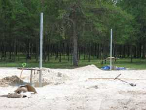 John Kundert's Manitoba Nudist Scrapbook: Gallery 28/06...Beach sand delivered, volleyball court completed