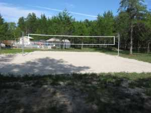 John Kundert's Manitoba Nudist Scrapbook: Gallery 28/08...Beach sand delivered, volleyball court completed