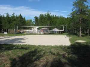 John Kundert's Manitoba Nudist Scrapbook: Gallery 28/09...Beach sand delivered, volleyball court completed