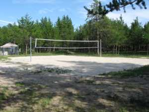 John Kundert's Manitoba Nudist Scrapbook: Gallery 28/10...Beach sand delivered, volleyball court completed