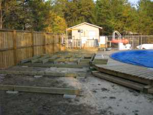 John Kundert's Manitoba Nudist Scrapbook: Gallery 32/06...Work begins on the new sun deck
