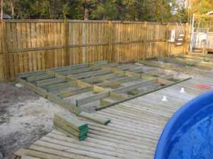 John Kundert's Manitoba Nudist Scrapbook: Gallery 32/07...Work begins on the new sun deck