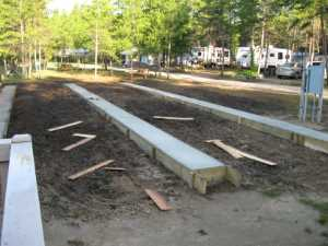 John Kundert's Manitoba Nudist Scrapbook: Gallery 36/28...Strip footings are formed and poured