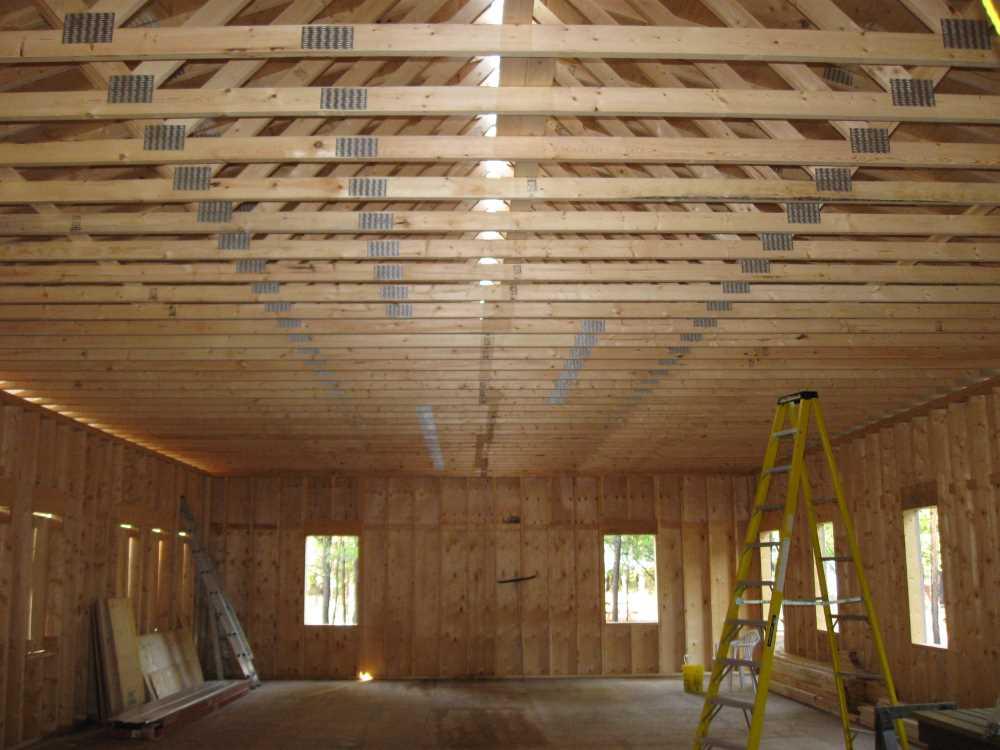 John Kundert's Manitoba Nudist Scrapbook: Gallery 39/03...Plywood sheathing and metal roofing applied