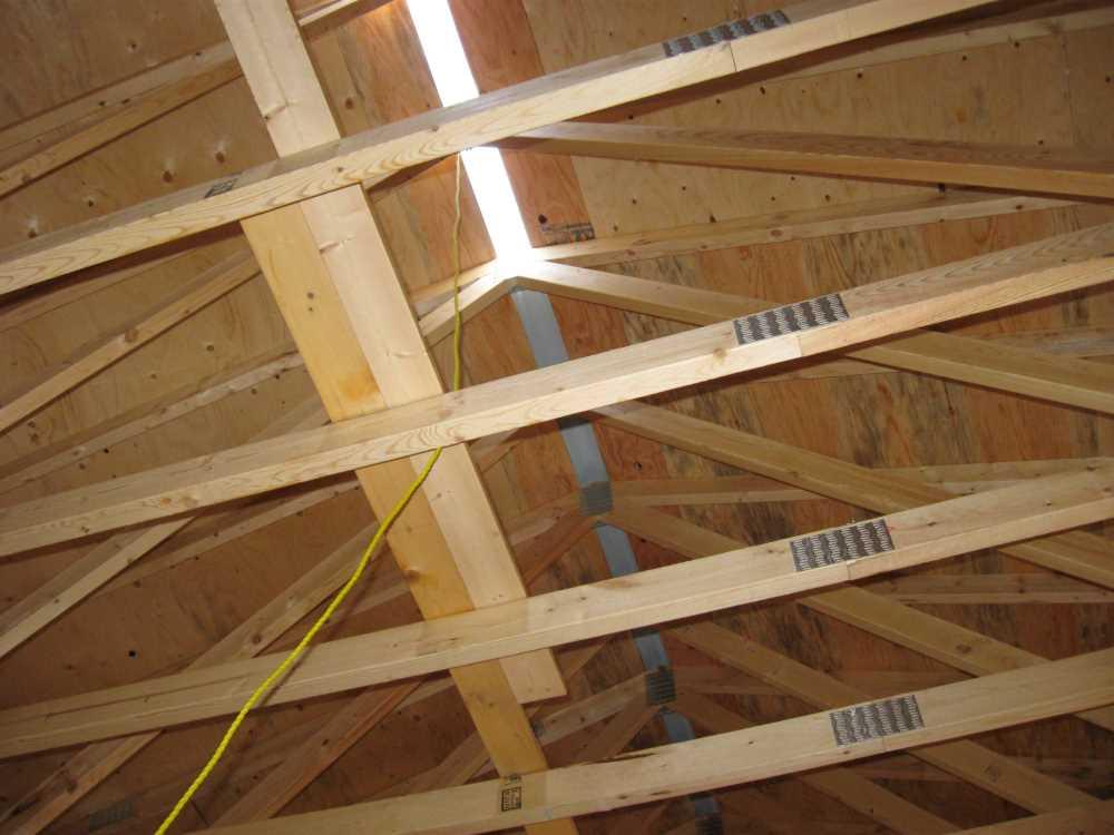 John Kundert's Manitoba Nudist Scrapbook: Gallery 39/16...Plywood sheathing and metal roofing applied
