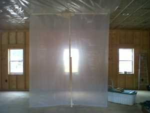 John Kundert's Manitoba Nudist Scrapbook: Gallery 44/02...Insulation, vapour barrier and drywall added