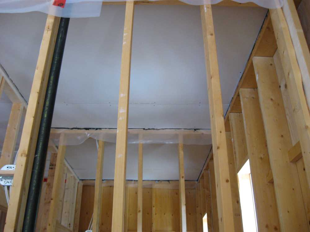 John Kundert's Manitoba Nudist Scrapbook: Gallery 44/10...Insulation, vapour barrier and drywall added