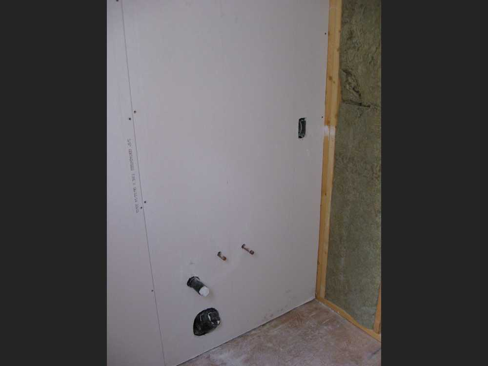 John Kundert's Manitoba Nudist Scrapbook: Gallery 44/18...Insulation, vapour barrier and drywall added